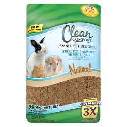 Clean Comfort Pet Bedding Natural - Small
