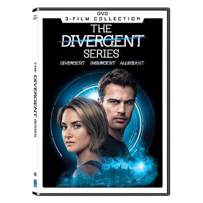 Divergent Series: 3 Movie Collection (DVD)