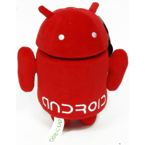 """Commonwealth Toys Android 10"""" Plush: Red - image 1 of 1"""