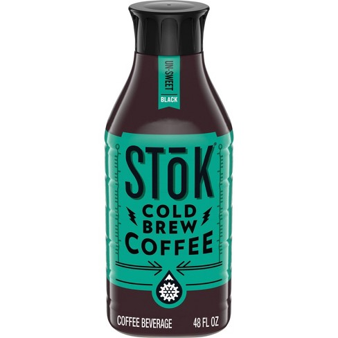 SToK Un-Sweet Black Cold Brew Iced Coffee - 48 fl oz - image 1 of 4