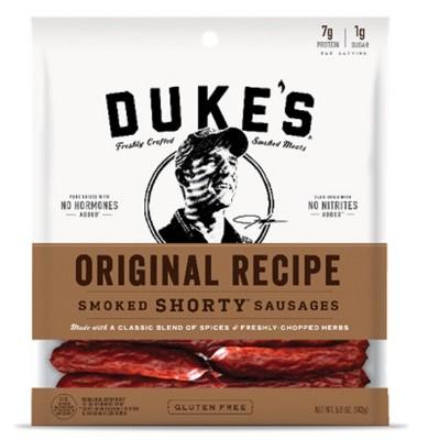 Duke's Original Recipe Shorty Smoked Sausages - 5oz