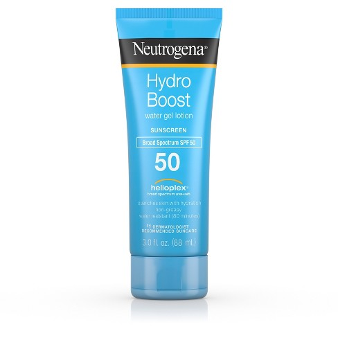Neutrogena Hydro Boost Gel Moisturizing Sunscreen Lotion - SPF 50- 3 fl oz - image 1 of 10