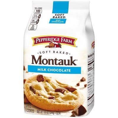 Pepperidge Farm Montauk Soft Baked Milk Chocolate Cookies - 8.6oz