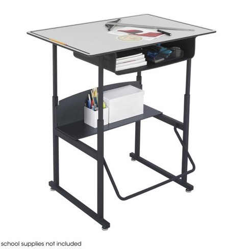 """Steel 24"""""""" x 36"""""""" Student Desk with Book Box in Gray-Rosebery Kids - image 1 of 3"""