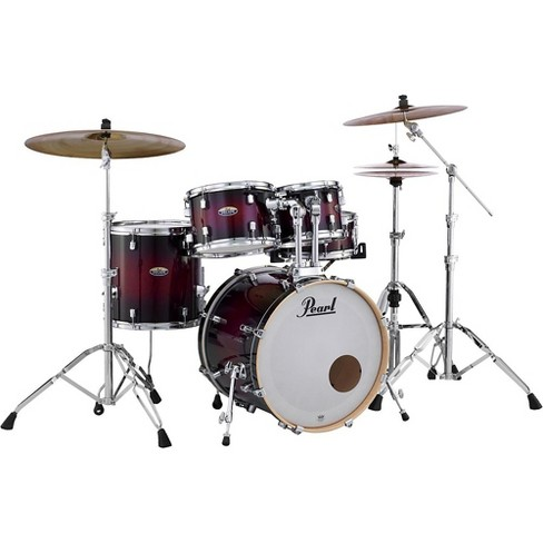 Pearl Decade Maple 5-Piece Shell Pack Gloss Deep Red Burst - image 1 of 4