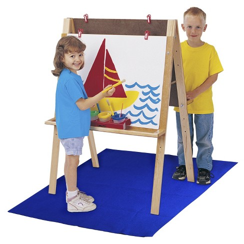 Art Easel Floor Mat, 42 x 59 Inches, Blue - image 1 of 1