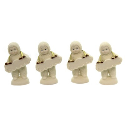 Dept 56 Snowbabies Christmas Placecard Holders Place Cards  -  Decorative Figurines