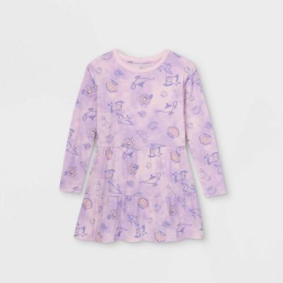 Girls' Disney Princess Royally Fierce Dress - Purple