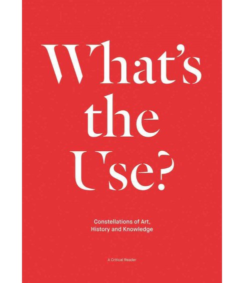 What's the Use? : Constellations of Art, History and Knowledge: A Critical Reader (Paperback) - image 1 of 1