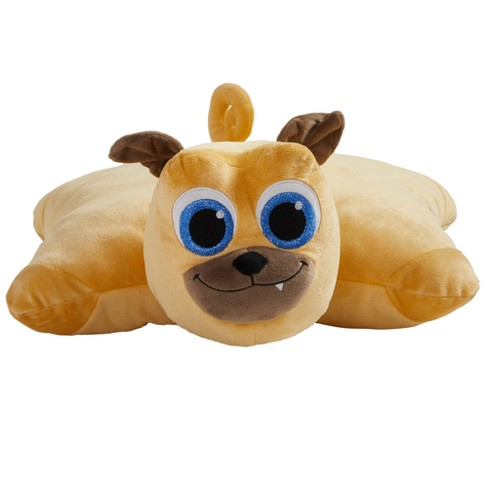 Disney Junior Puppy Dog Pals Rolly 16 Pillow Pet Brown Target