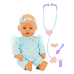 Baby Born - Mommy Make Me Better - Interactive Baby Doll - Green Eyes