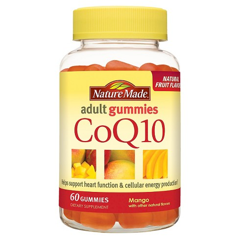 Nature Made CoQ10 Gummies - Mango - 60ct - image 1 of 2