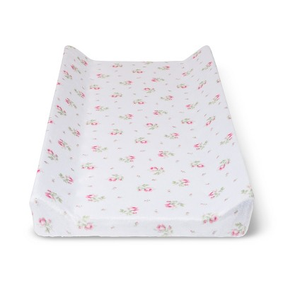Suede Plush Changing Pad Cover - Simply Shabby Chic® Nursery Pink