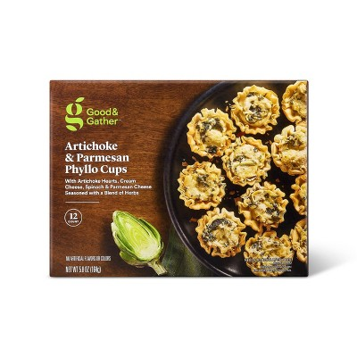 Frozen Artichoke & Parmesan Phyllo Cups - 5.8oz/12ct - Good & Gather™