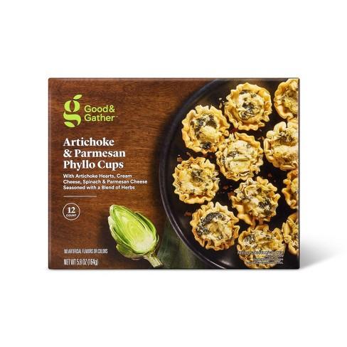 Frozen Artichoke & Parmesan Phyllo Cups - 5.8oz/12ct - Good & Gather™ - image 1 of 2