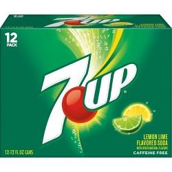 7UP - 12pk/12 fl oz Cans