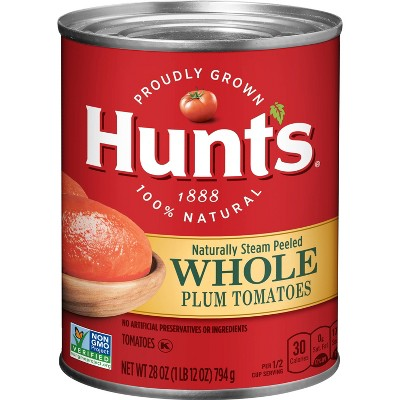 Hunt's 100% Natural Whole Tomatoes 28oz