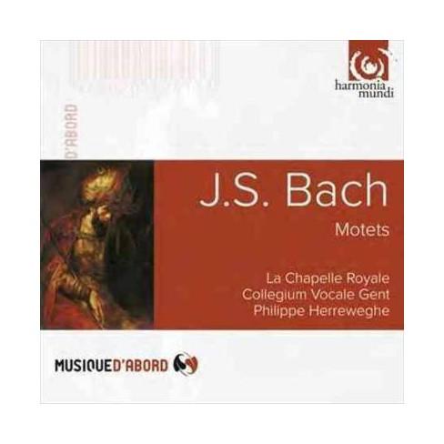La Chapelle Royale - Bach: Motets (CD) - image 1 of 1