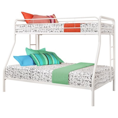 Catalina Twin Over Full Metal Bunk Bed White Room Joy Target