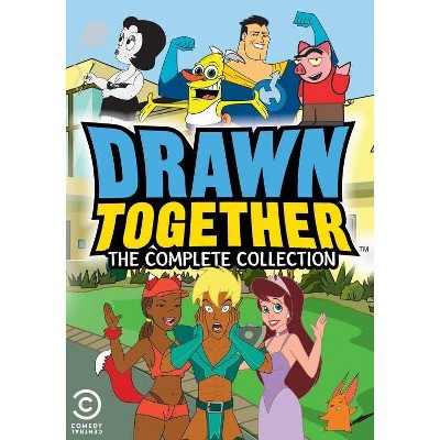 Drawn Together: The Complete Series, Party In Your Box (DVD)(2017)