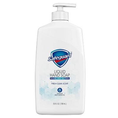 Safeguard Liquid Hand Soap Micellar Deep Cleansing Fresh Clean Scent - 25 fl oz