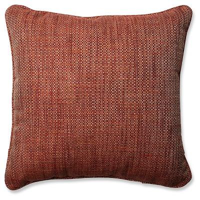 Pillow Perfect Tweak Sedona Throw Pillow - Red (18 )