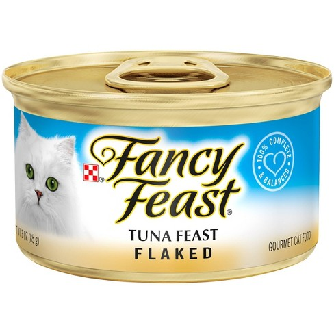 Purina Fancy Feast Flaked Wet Cat Food - 3oz Can - image 1 of 3