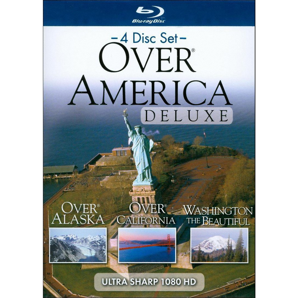 HD Over America Deluxe (4 Discs) (Blu-ray)