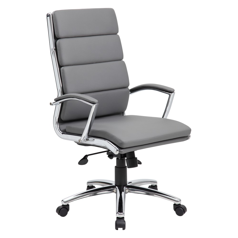 Image of Contemporary Executive Chair Gray - Boss Office Products