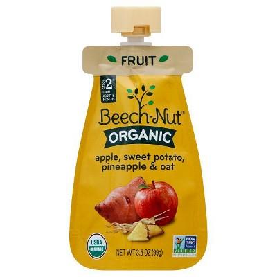 Baby Food: Beech-Nut Organic Pouch