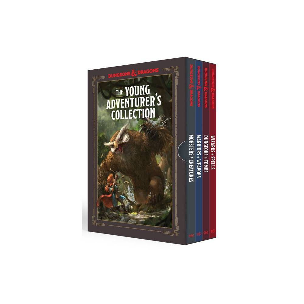 The Young Adventurer S Collection Dungeons Dragons 4 Book Boxed