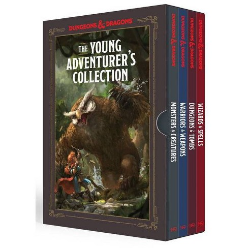 The Young Adventurer's Collection [dungeons & Dragons 4-Book Boxed Set] - (Dungeons & Dragons Young Adventurer's Guides) (Mixed Media Product) - image 1 of 1