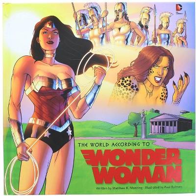 Geek Fuel c/o INDUSTRY RINO DC Comics The World According to Wonder Woman Hardcover Book