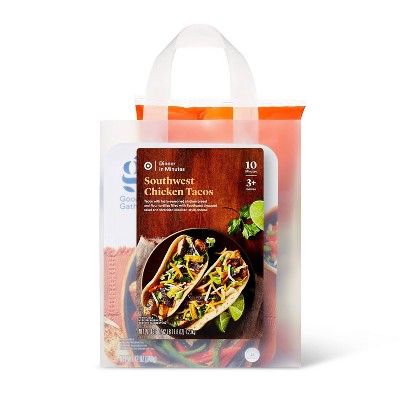 Southwest Style Chicken Tacos Meal Bag - 43.6oz