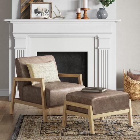 Bedford Rustic Wood Arm Chair - Threshold™ : Target