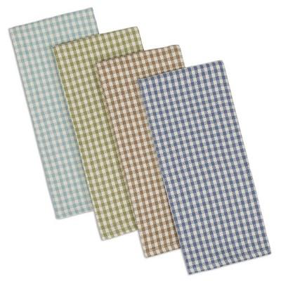 4pk Cotton Assorted Lakehouse Dishtowels - Design Imports