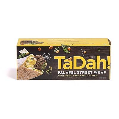 Tadah! Vegan Frozen Lemon Garlic Hummus Falafel Wrap - 7.5oz.
