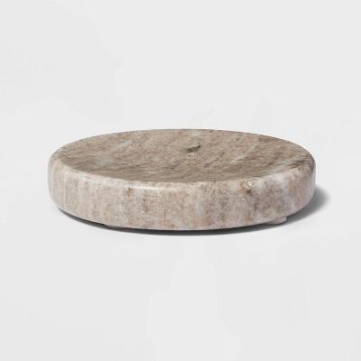 Marble Soap Dish Beige - Threshold™