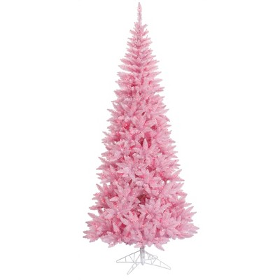 Vickerman Pink Fir Artificial Christmas Tree