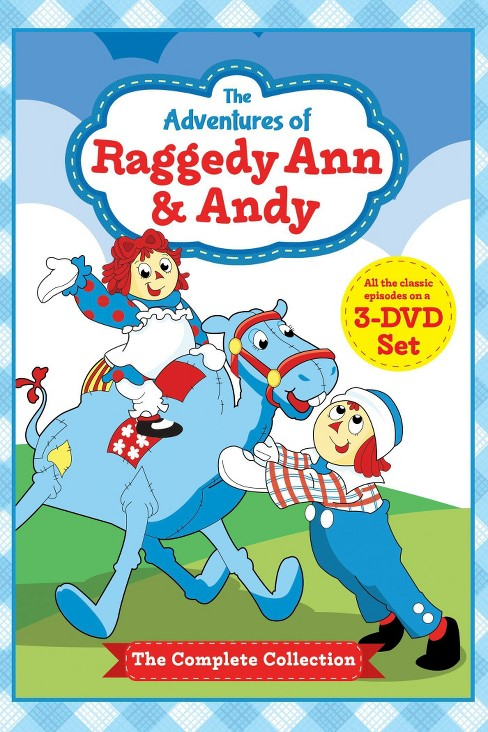 Adventures of raggedy ann & andy:Comp (DVD) - image 1 of 1