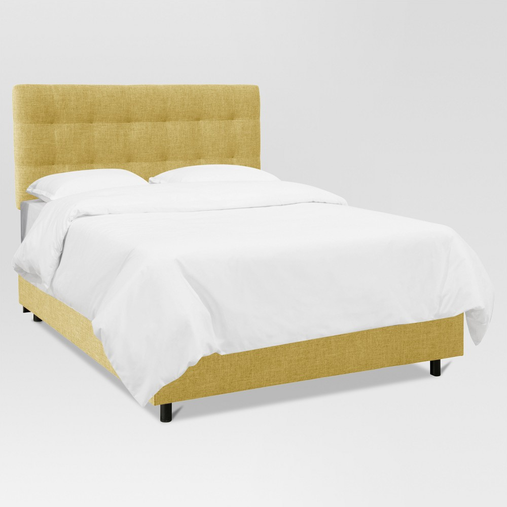 Siegel Twin Pull Tufted Bed Zuma Golden - Project 62