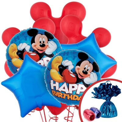 Birthday Express Mickey Mouse Balloon Bouquet