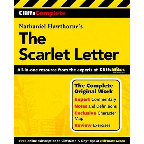 Cliffscomplete the Scarlet Letter - (Cliffs Complete) by  Nathaniel Hawthorne & Karin Jacobson - image 1 of 1