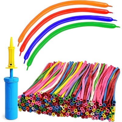 Balloon Twisting Kit, Includes Pump and Twist Balloons (400 Pieces)