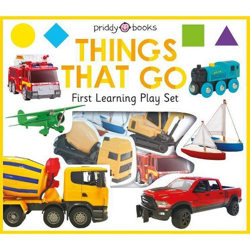 First Learning Play Set: Things That Go - (First Learning Play Sets) by  Roger Priddy - image 1 of 1