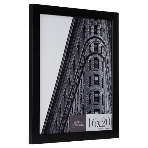 16x20 Black Flat Large Wall Frame Gallery Perfect Target