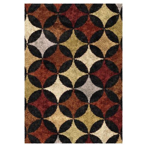 Murry Hill Black Rug - Orian - image 1 of 5