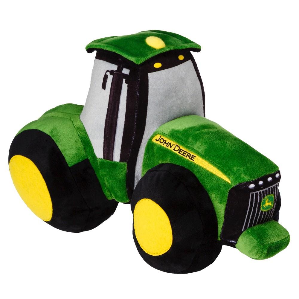 John Deere Throw Pillow, Green