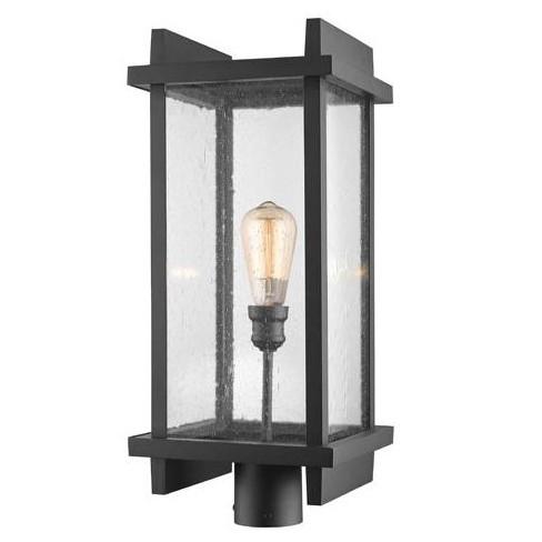 "Z-Lite 565PHBR Fallow Single Light 23-3/8"" Tall Outdoor Single Head Post Light - image 1 of 1"