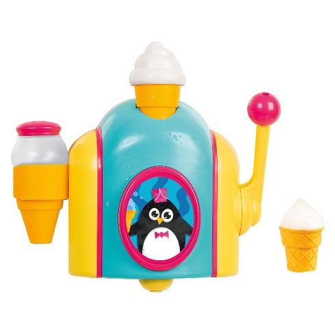 Toomies Foam Cone Factory Bath Toy - Blue/Yellow - image 1 of 4